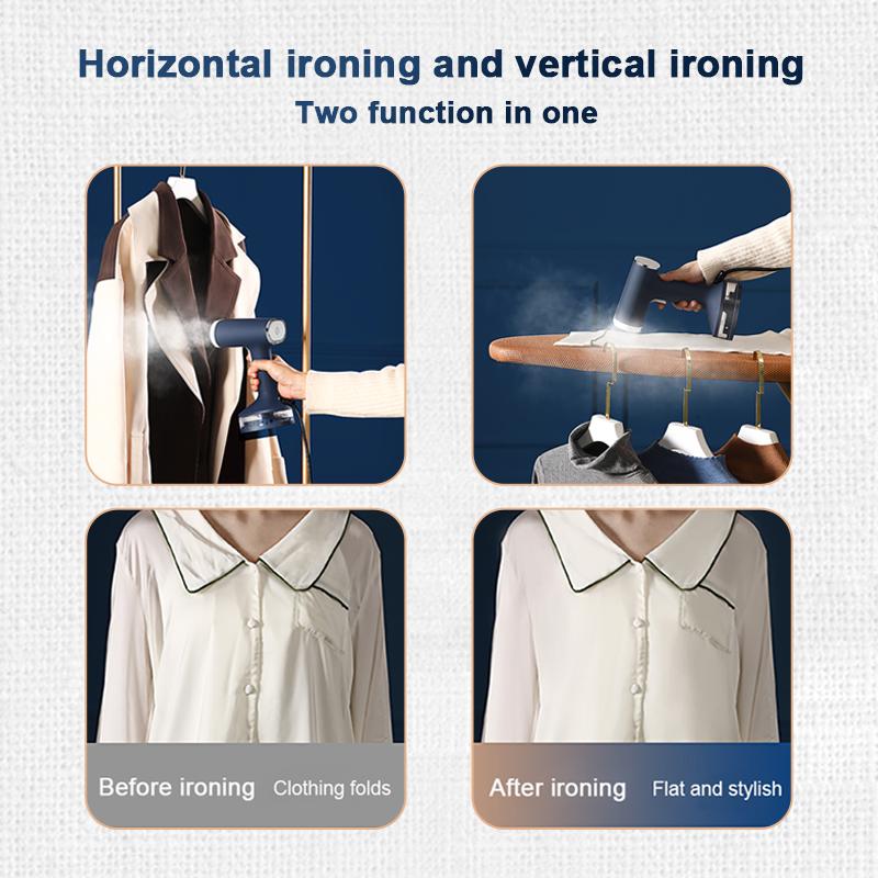 Мини-Паровая гладильная машина KONKA 1200 Вт, ручной отпариватель для тканей и одежды для путешествий, компактный дорожный отпариватель