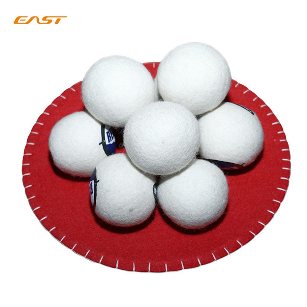 Восточная Новая Зеландия экологически чистые 100% шерстяные сушильные шарики, фетровый шар для стирки, большие шерстяные сушильные шарики