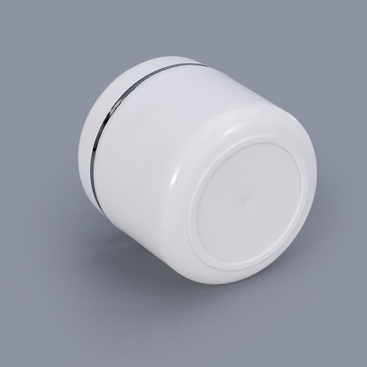 20ml 30ml 100ml 150ml 200ml 250ml white plastic PP jar for cosmetic body scrub body cream face mask