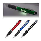Light Pen Led Ball Pen Oem Diy Black Gift Soft Touch Screen Custom Led Laser Logo Light Up Stylus Ball Pen