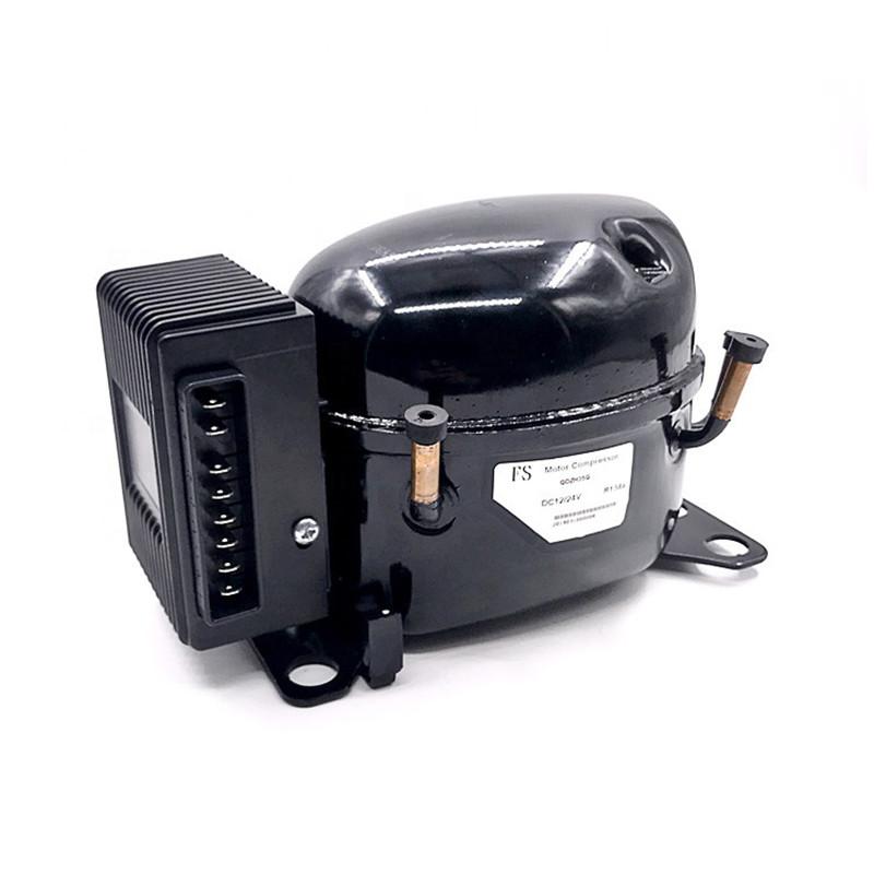 QDZH25G dc power with r134a refrigerator 12 v 24 v dc compressor