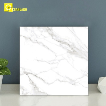 foshan cheap big size black porcelain tile look like marble flooring