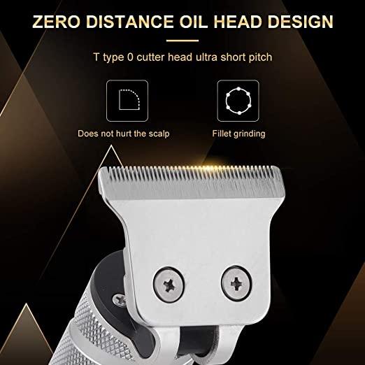 Электрические машинки для стрижки волос, Парикмахерская, уход за волосами, водонепроницаемый перезаряжаемый беспроводной триммер с Т-образным лезвием для мужчин