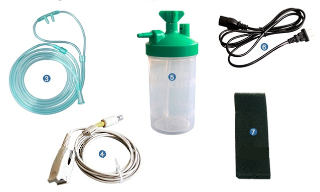 Factory Direct Sale Medical Household Oxygenerator Electric Oxygen Concentrator