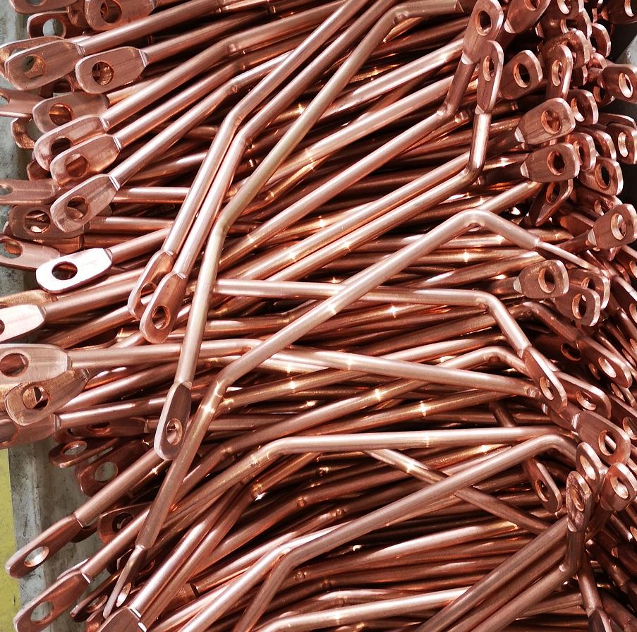 Tin Plated Copper Busbar