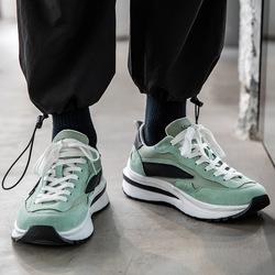 Новинка осени 2021, спортивная обувь, увеличивающая рост, мужская повседневная обувь, Корейская версия универсальной модной обуви ins