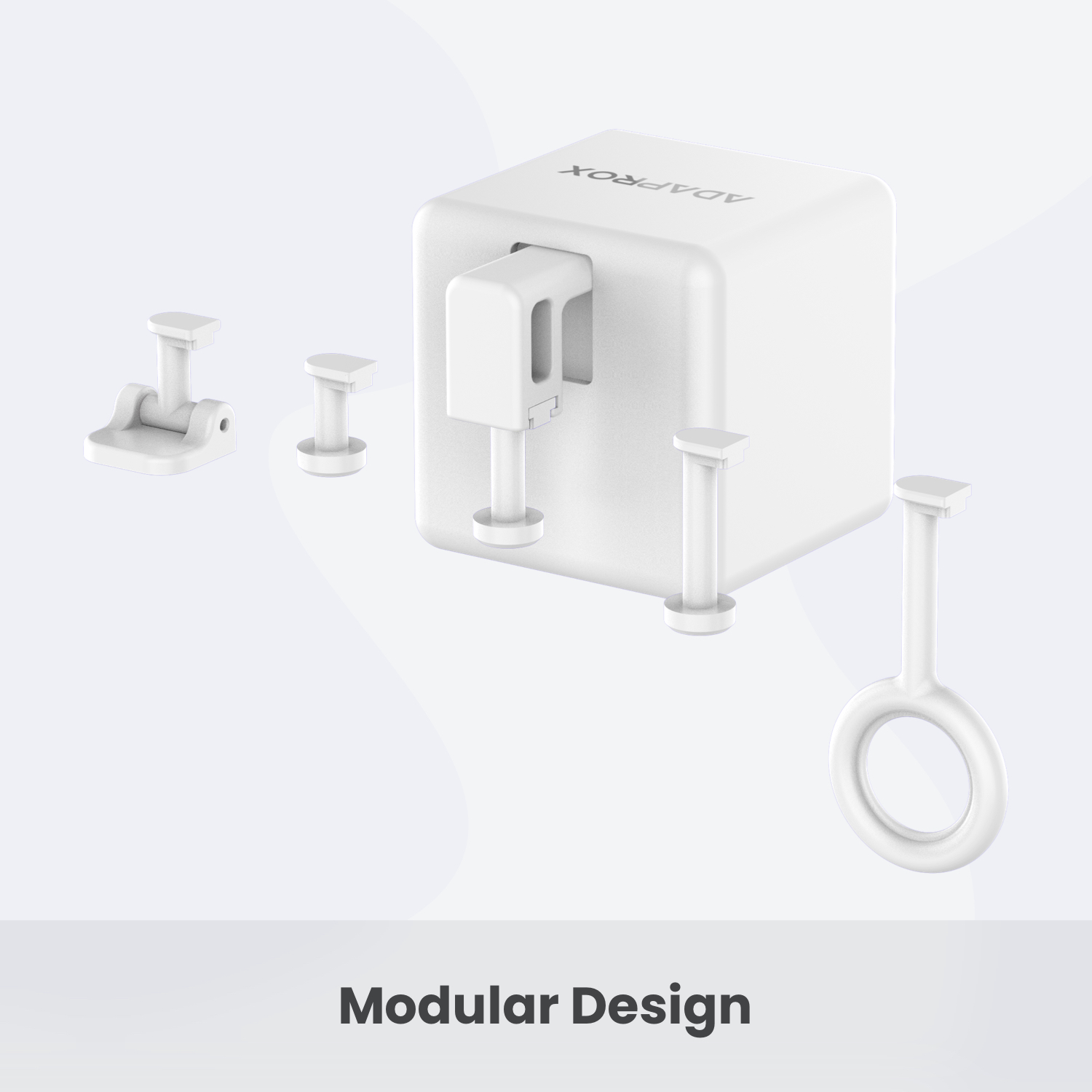 2021 New Products Alexa Voice Control Tuya App Wifi Ble Fingerbot Small Robet Switch Press All Button Smart Fingerbot switchbot