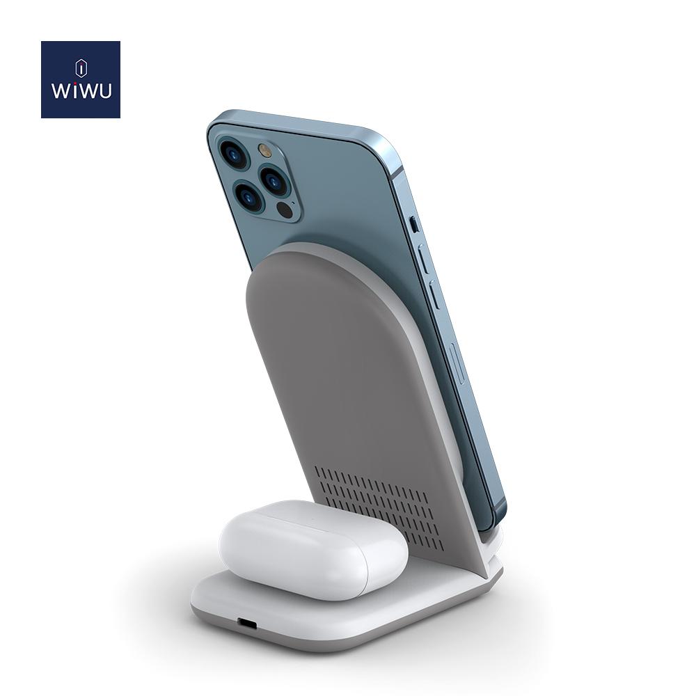WiWU 二合一 无线充电器 (https://www.wiwu.net.cn/) 无线充电器 第4张