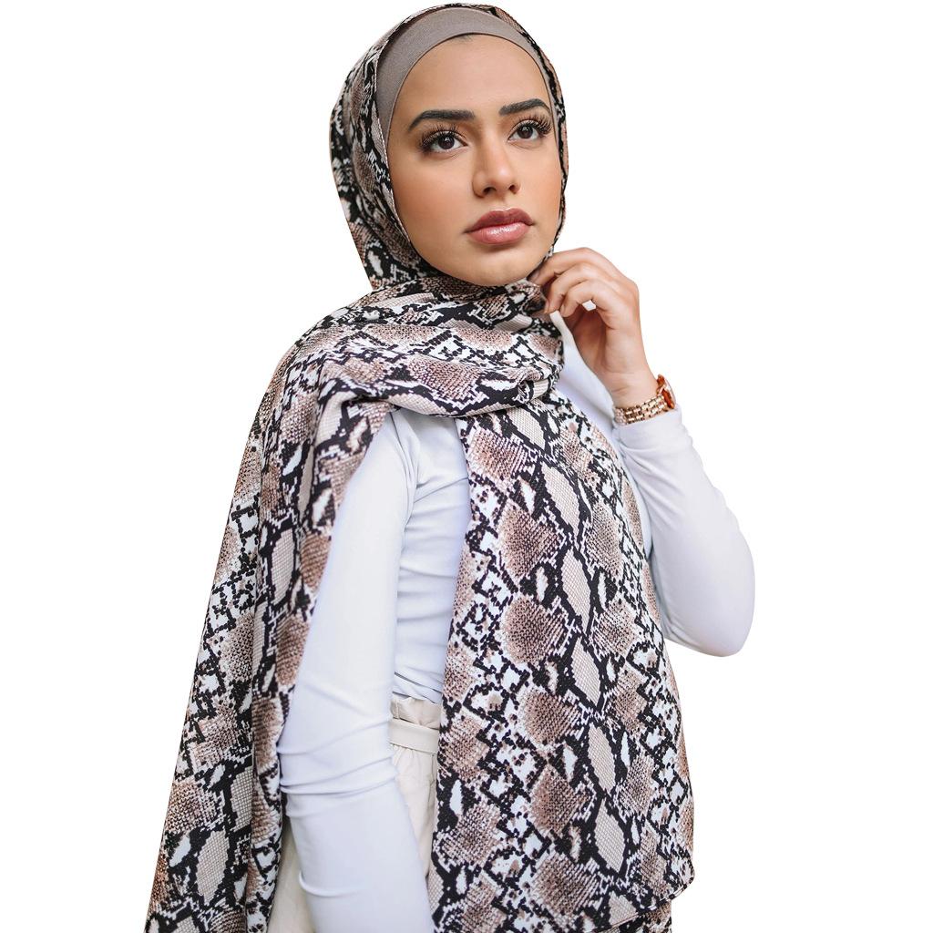 Femmes foulard mousseline strass musulman hijab foulards foulard châle islamique