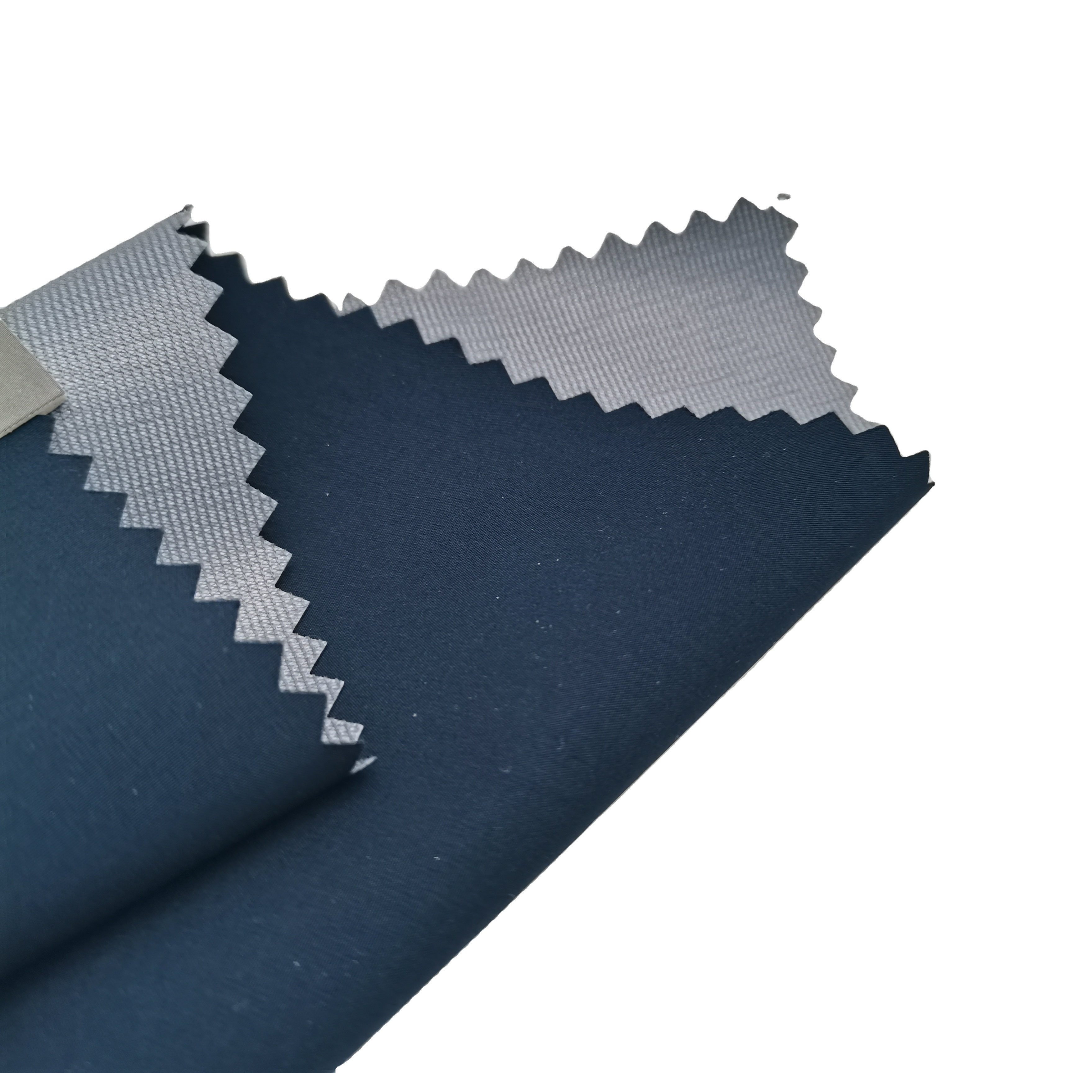 50D/144F 100% polyester pongee dewspo fabric with breathable TPU and 30D tricot used seam tape