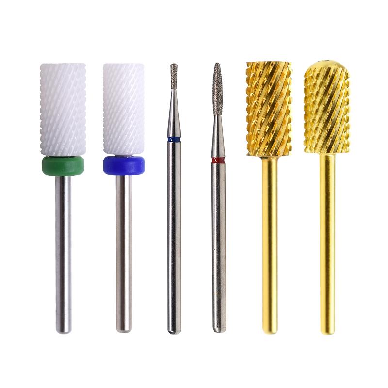 Оптовая продажа, керамическое сверло для снятия гель-лака для ногтей