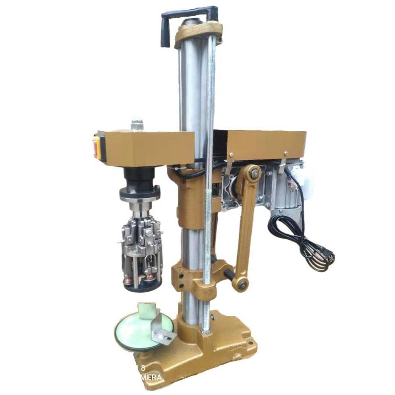 Оптовая цена полуавтоматическая машина для запечатывания алюминиевых крышек/Ropp укупорочная машина ручная укупорочная машина для бутылок