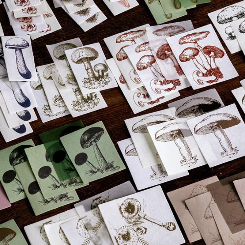 retro decoration pattern DIY washi paper stickers kraft Journal Travel Recording Envelopes Planner stationery