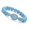CB86538 Blue Turquoise,oval