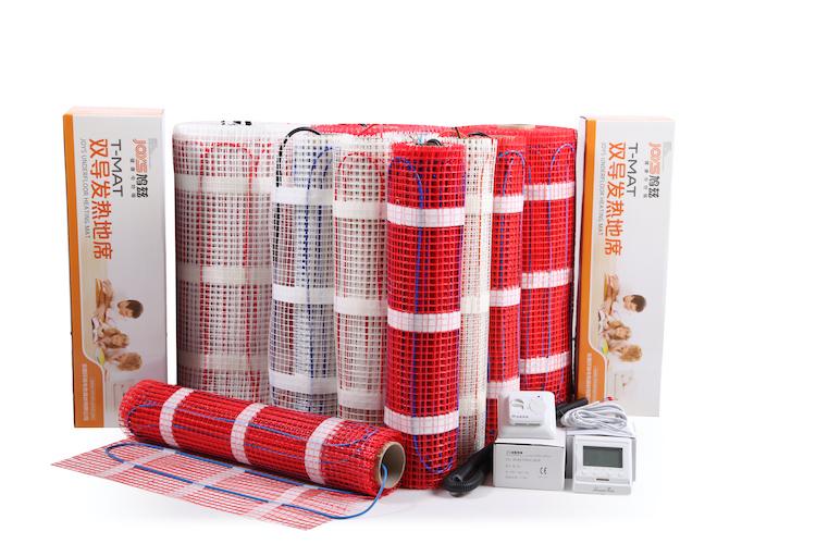 electric residential   floor heating mat