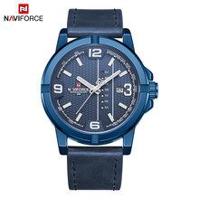 NAVIFORCE мужские часы, лучший бренд, мужские Модные Роскошные деловые часы, повседневные водонепроницаемые кварцевые наручные часы с датой, ...(Китай)