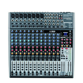 Accuracy Pro Audio X2222USB Professional Video 22 Channels Studio Sound Mixer With USB