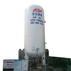 Asme Carbon Steel 5m3 Cryogenic Liquid Co2 Storage Tank Price With Asme