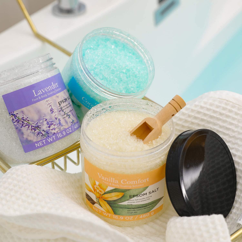Натуральный Набор для ванны, увлажняющий и гладкий отбеливающий спа-подарок для ног, OEM
