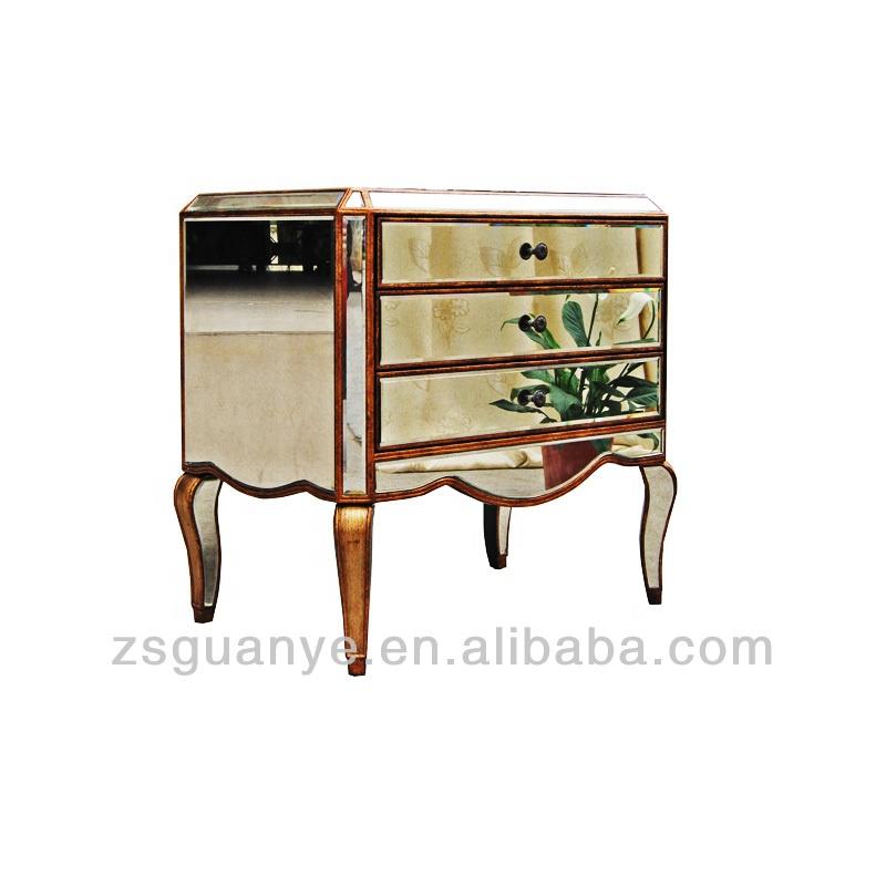 Лидер продаж, современная мебель для гостиной, антикварные зеркальные журнальные столики ручной работы