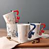 ceramic reindeer craft