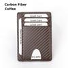 Carbon Fiber Leather  Coffee