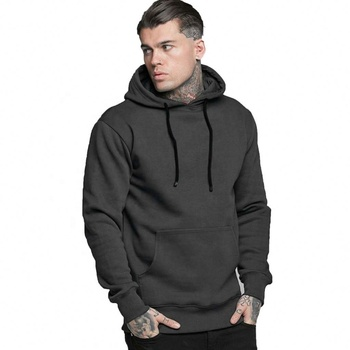 Fitness Apparel Men High Quality Training Design Hoodie Drawstring