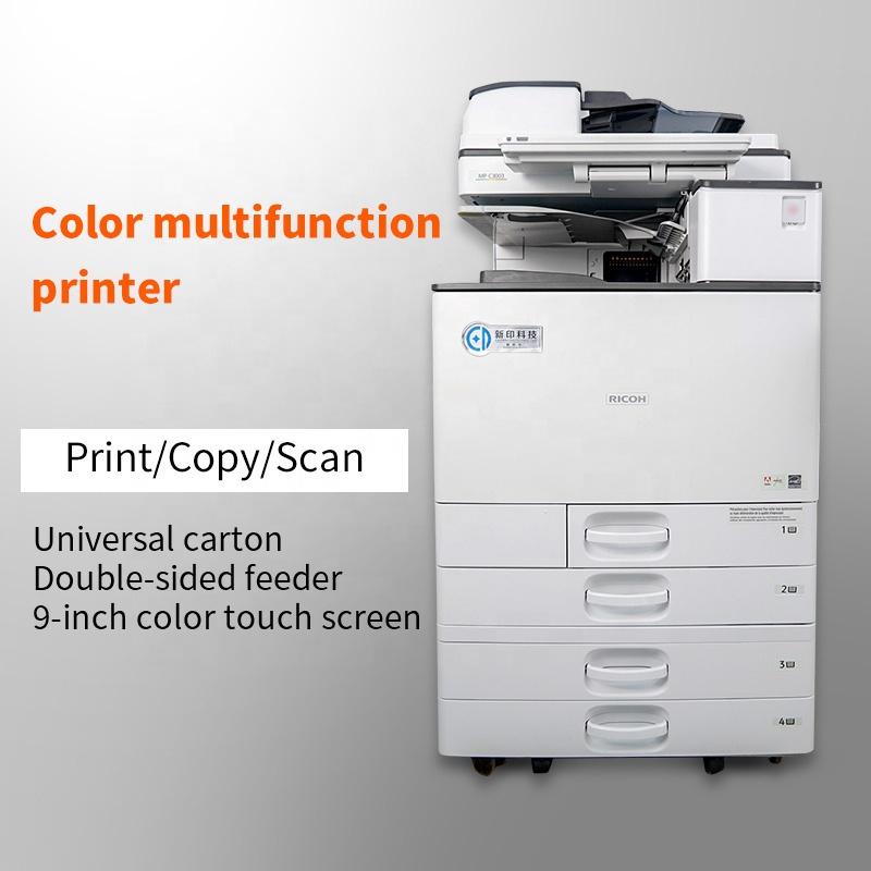 Used Copier Machine For RICOH AficioA4 A3 Ricoh Imprimante Duplicator Multifonction Scan/Print/ Machine Ricoh mp c3003