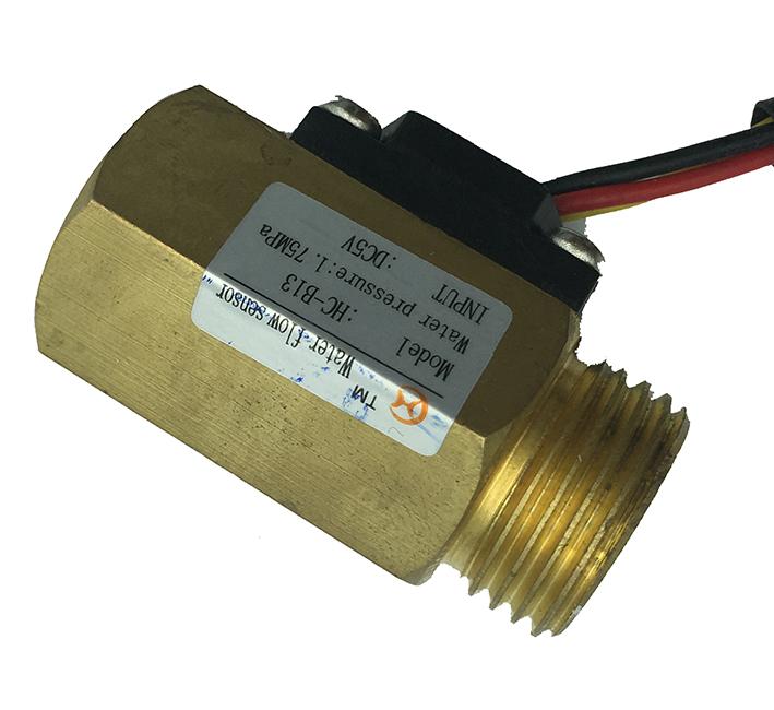 water temperature magnetic flow sensor g1/2