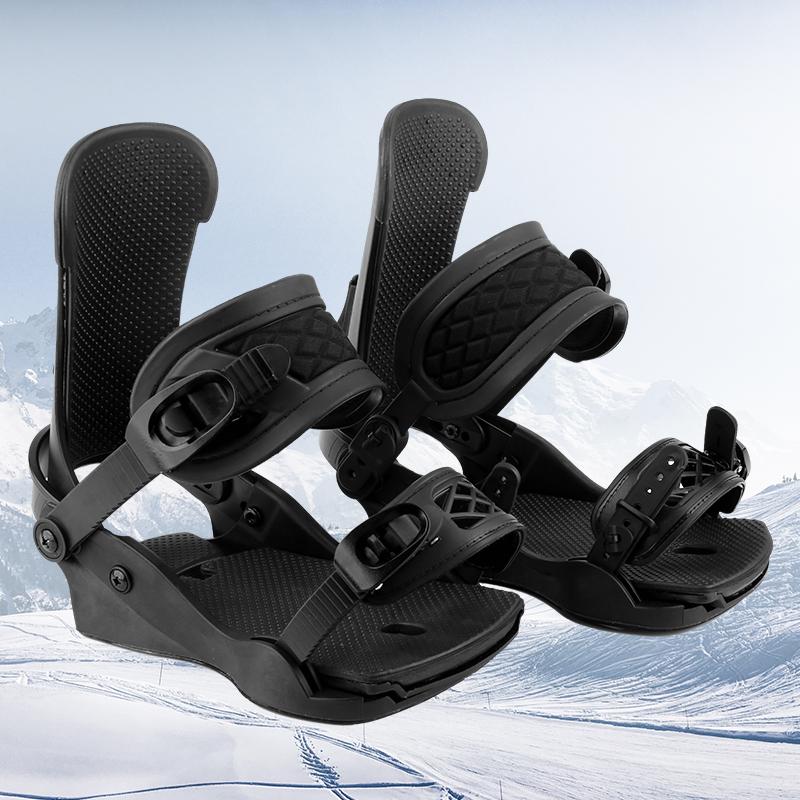 Размер M крутой полностью черный переплет для сноуборда с индивидуальным логотипом