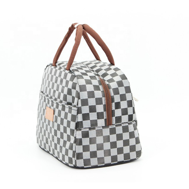 Lunch bag Large capacity aluminium foil waterproof outdoor beach picnic thermal food insulated lunch cooler tote bag