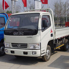 Mini Van Dongfeng Cheap 82HP 6 Wheeler 4x2 Dong Feng 4.1m Mini Light Flatbed Dump Cargo Van 5 Tons Trucks Price For Sale