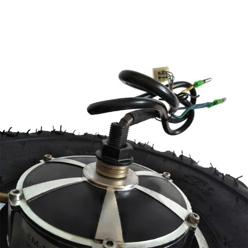 Двухвальный редукторный двигатель 5-12 км/ч 14,5 дюйма для электрической тачки