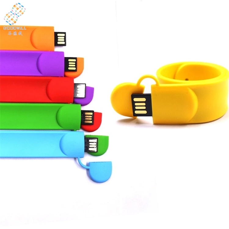Hot sale PVC bracelet ubs pen drive with oem logo - USBSKY | USBSKY.NET