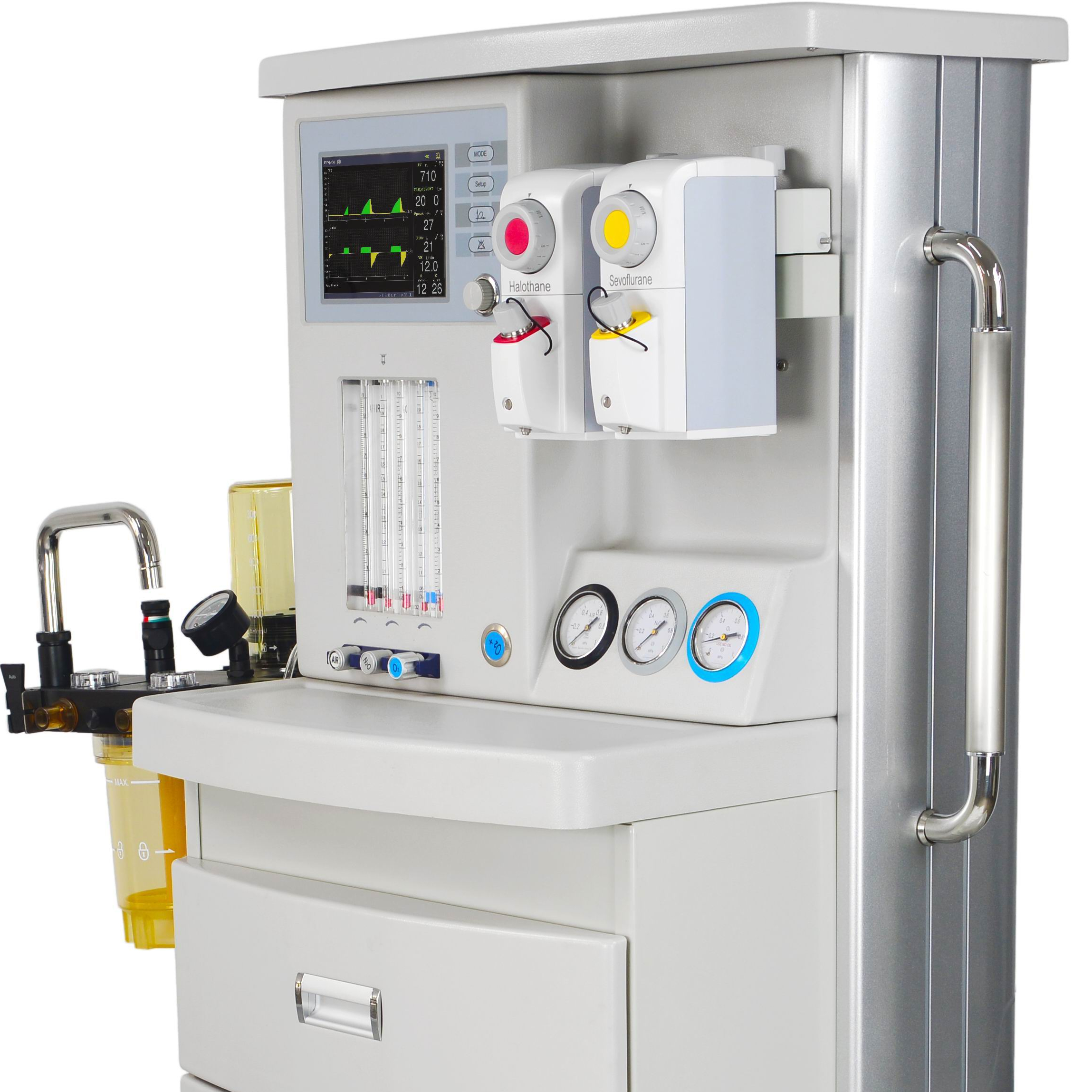 Ha-3800A Hot Sell Medical Equipment Anesthesia Machine with 2 Vaporizer for Hospital - KingCare | KingCare.net