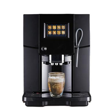 Оптовая продажа, кофемашина с большим сенсорным экраном 3,5 дюйма, корпус из АБС-пластика, многофункциональная самоочищающаяся лучшая кофемашина