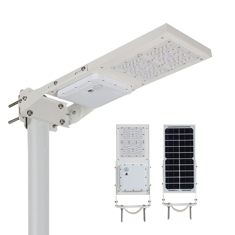 LAP Outdoor waterproof smart ip65 60w 90w all in one Integrated solar led wall lamp price list