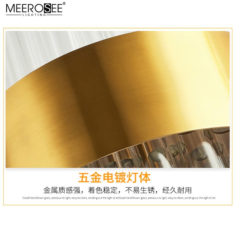 MEEROSEE Indoor Wall Mounted Reading Light Fancy Hotel Modern Wall Light E14 Wall Lamp MD86733