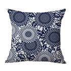 Digital print luxury outdoor cushion cover square cushion