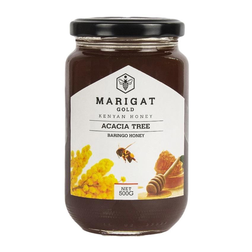 Marigat Gold Kenyan Honey Acacia Tree 500g jar Honey Natural Honey Maid