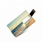 Pen Drive Custom LOGO Credit Card Pen Drive 8gb 4gb 32gb Mini Business Card Usb Flash Drive Pendrive 2/3.0