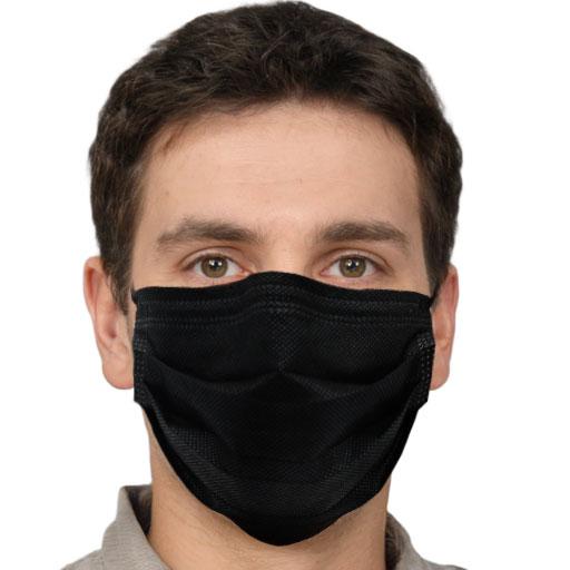 Black Face Mask Disposable Mascarillas OEM Factory Custom Black Mask Wholesale Breathing Respirator Mascherine Maskss Facemask - KingCare | KingCare.net