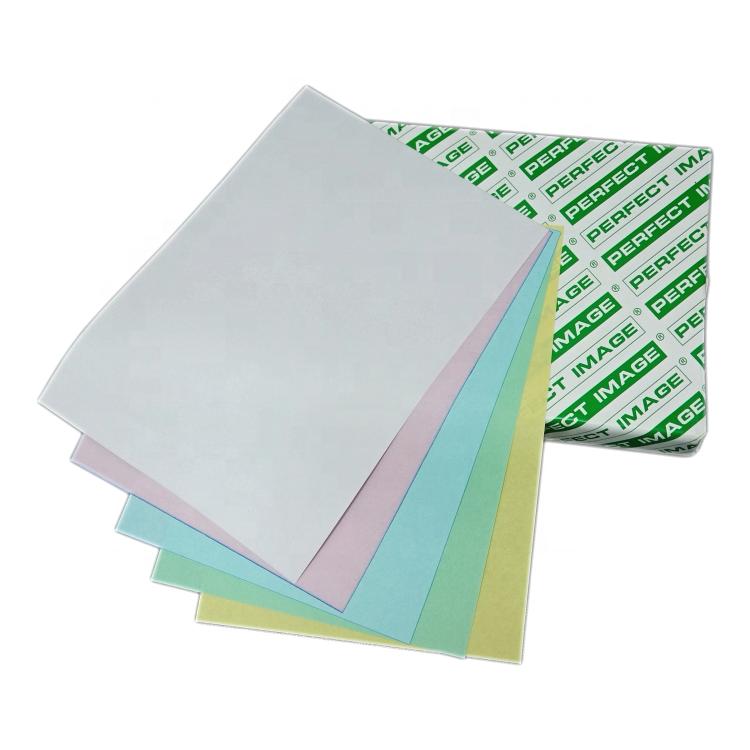 Carbonless NCR Paper Sheets Ream blue black copy colors
