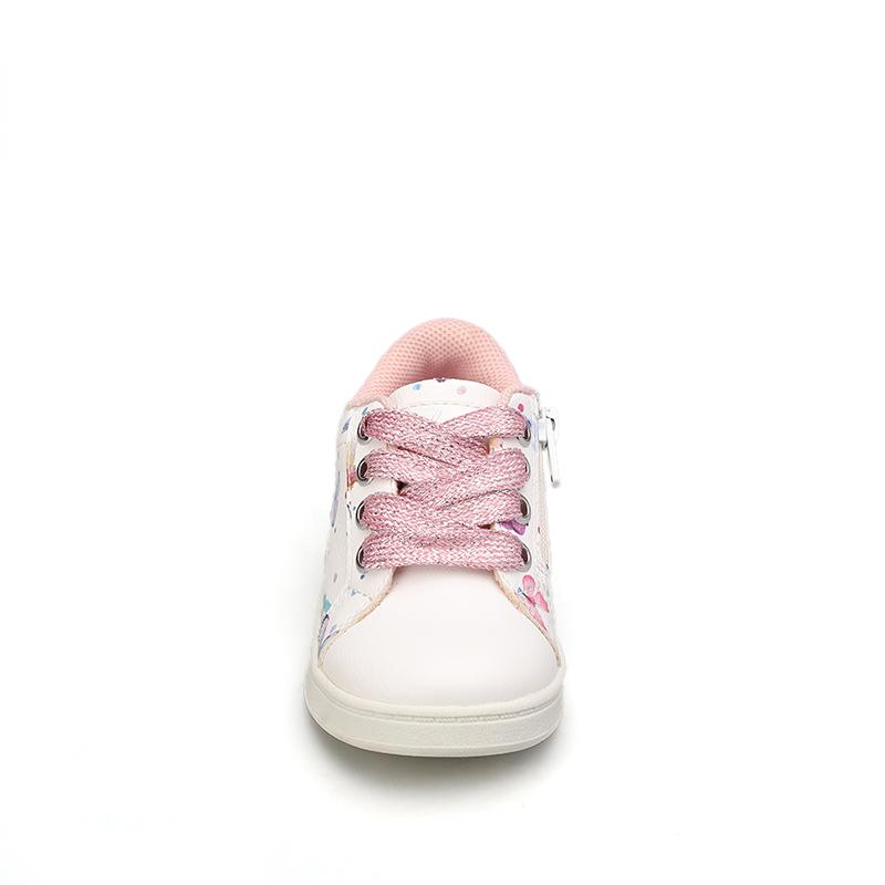 Оптовая продажа 2021, разноцветная эластичная обувь для девочек, высококачественные повседневные кроссовки, прогулочная обувь