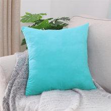 Прямые продажи, модный настраиваемый замшевый тканевый цветной чистый наволочка для автомобильного стула, наволочка для дивана, домашнего ...(Китай)