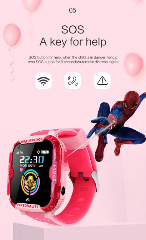 Фабрика 4G водонепроницаемый мобильный телефон дети часы Сенсорный экран Дети GPS WIFI SmartWatch
