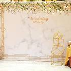 Wedding Wedding Backdrop Wedding Popular Portable Straight Tension Fabric Backdrop Wedding