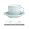 ST1328/cup and saucer light blue