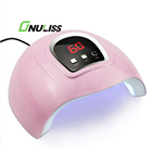 Uv Lamp Uv Led Nail Lamp 168W Faster Gel Dryer Set With Nail Polish 48 Watt Uv Led Nail Lamp Dryer Both Hand