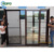 Australia Standard Patio Grill PVC UPVC Waterproof Vinyl Slide Patio Glass Door
